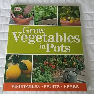 NWT Grow Vegetables in Pots by DK